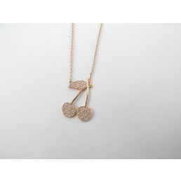 Collier en or rose motif...