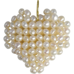 Pendentif de perles d'eau...