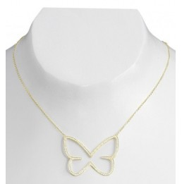 Collier en or jaune motif...