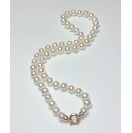 Collier de perles de...