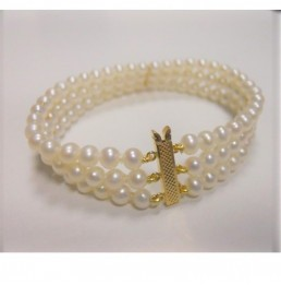 Bracelet  perles de culture...