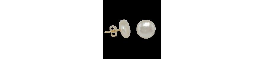 boucles d'oreilles perles eau douce